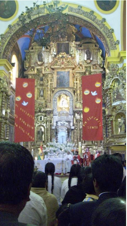 Copacabana Cathedral altar